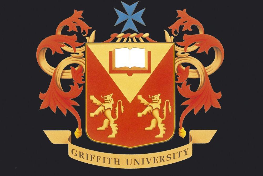 Original Griffith Crest/Emblem - Black Background