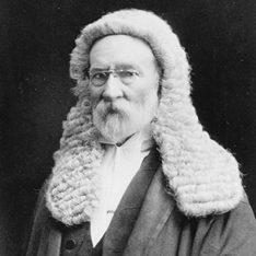 Sir Samuel Griffith in Judges Attire